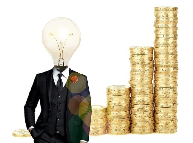 finanční myšlenka