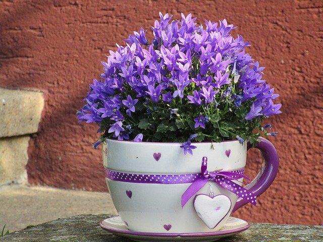 hrnek na květiny