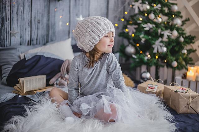 holčička o vánocích