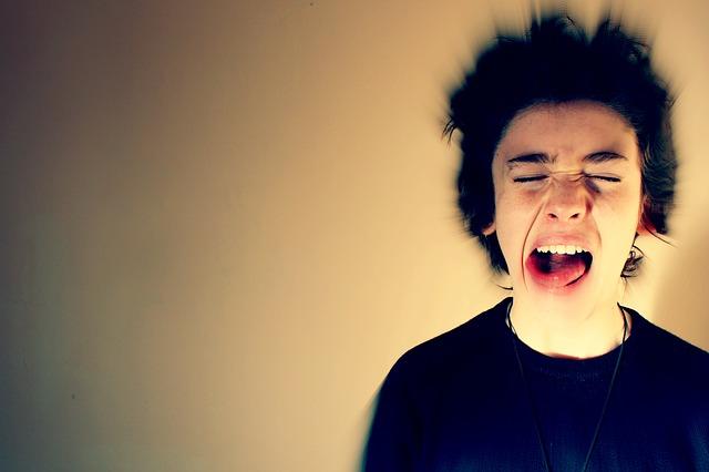záchvat vzteku