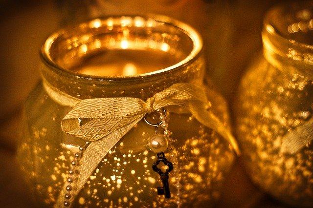 klíček na svíčce