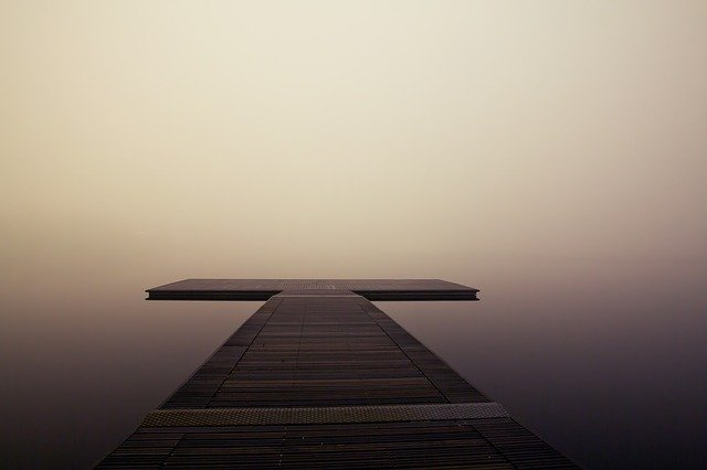 molo u jezera